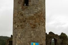 Die Burg in bunten Farben